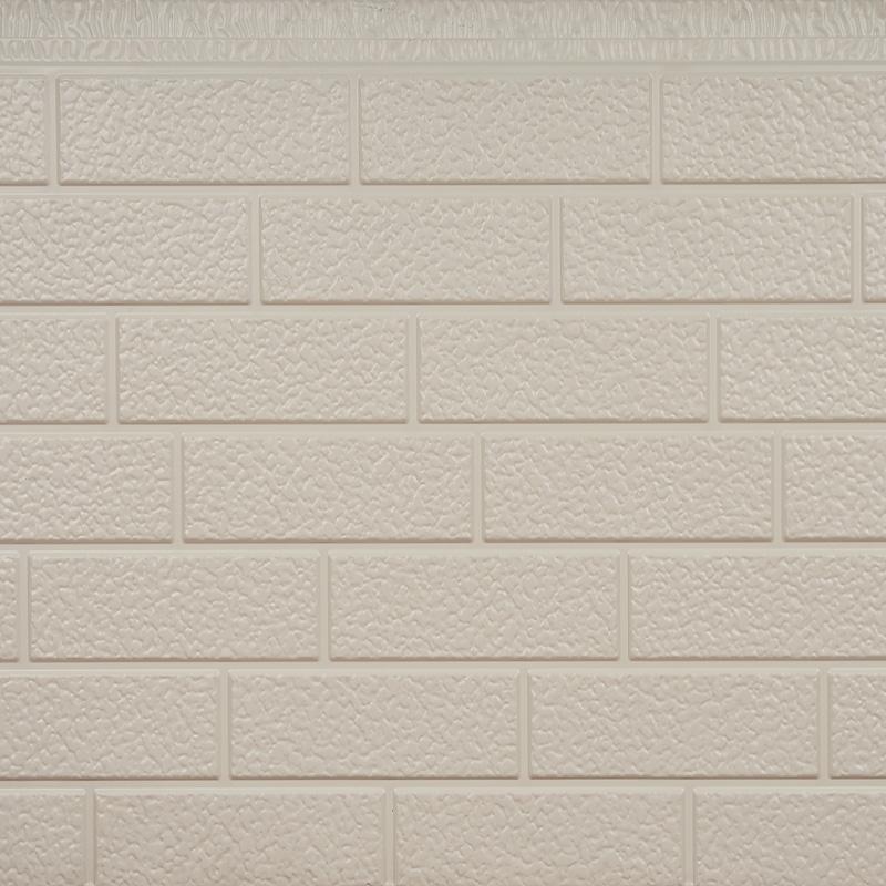 砖纹金属保温装饰一体板