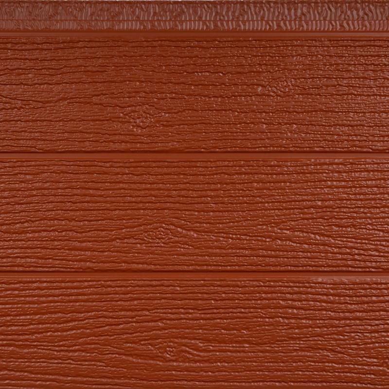 橡木纹金属外墙保温板