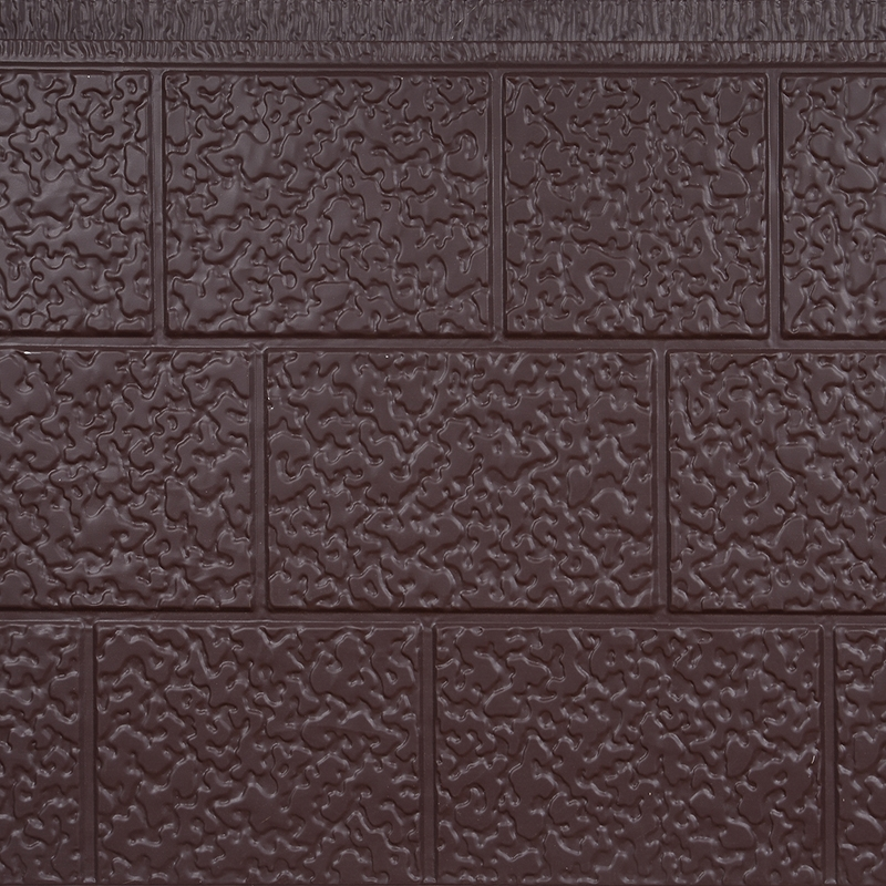 三砖纹金属雕花保温板